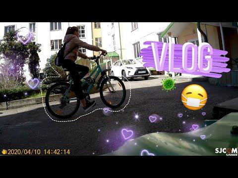 VLOG: Ессентуки || катаемся на велосипедах || Карантин😷