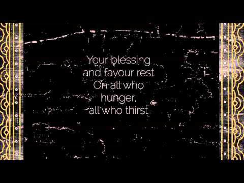The Feast - Harmony Smith from The Fest EP (Official Vineyard Worship Lyrics Video)