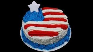 Unser Logo - Der Us Flag Cake =)