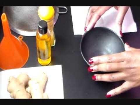 comment preparer huile de gingembre