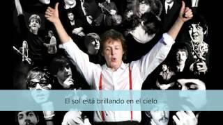 Paul McCartney See you'r sunshine (subtitulado en español)