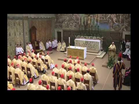 Đức Tân Giáo Hoàng Phanxicô cử hành thánh lễ đầu tiên