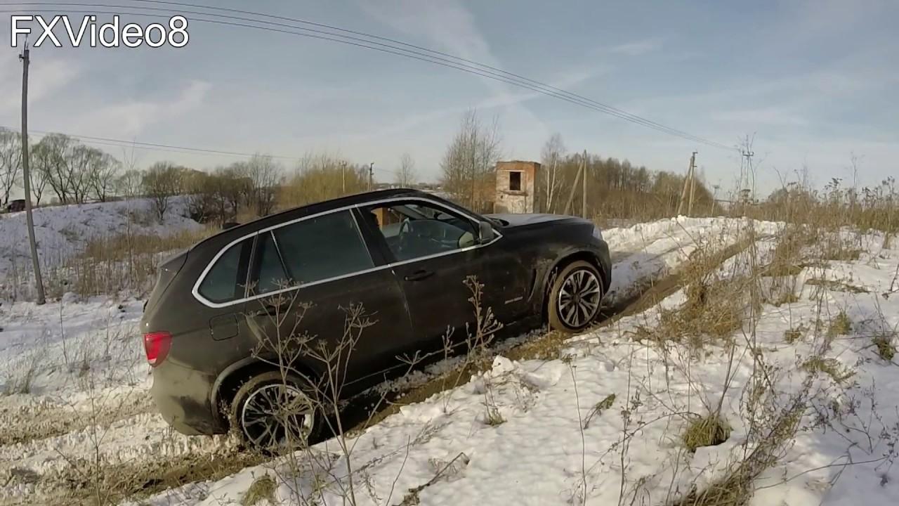 BMW X5 F15 DSC testing (off road)