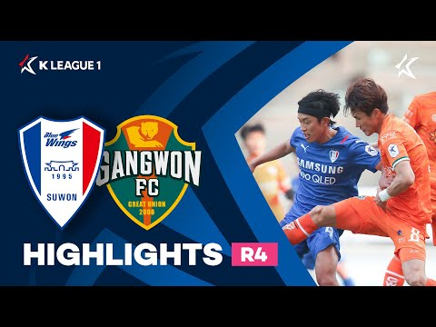Suwon Bluewings Gangwon Goals And Highlights
