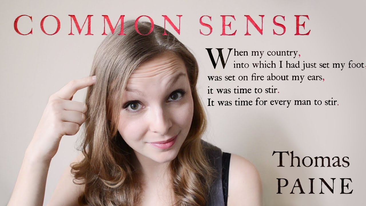 great ideas common sense by thomas paine