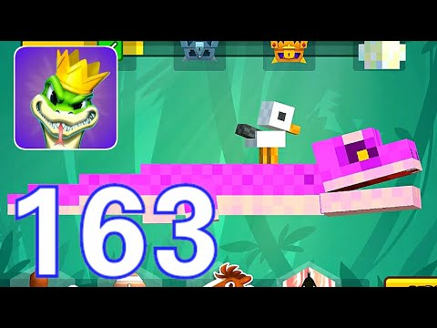 Snake Rivals-(Gameplay 163)-SNAKE BYTE Y Todas Sus Partes