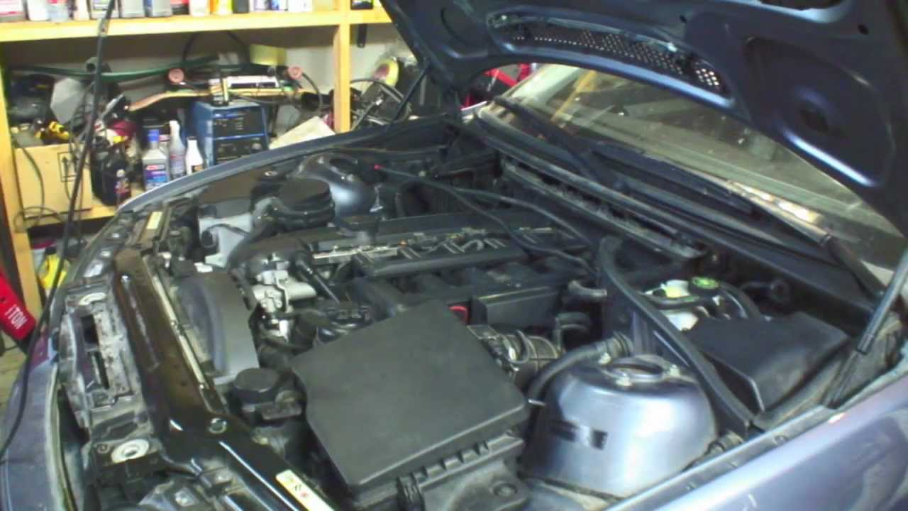 DIY BMW E46 CCV Replacement, Crank Case Ventilation Valve, Oil ...