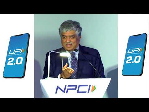Shri. Nandan Nilekani (Co-Founder, and Non- Executive Chairman, Infosys), at the UPI 2.0 Launch