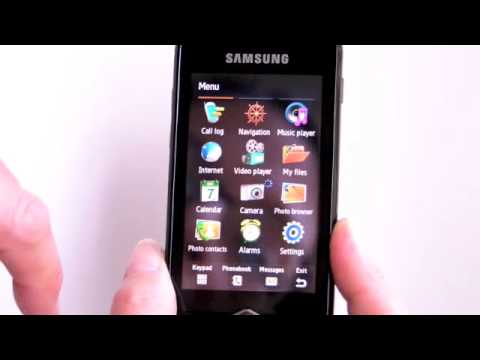 Samsung Jet S8000 Video Review