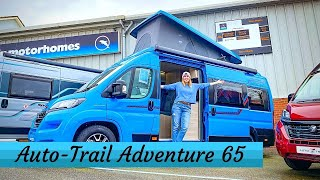 Fiat DUCATO CAMPER With A POP TOP!!! - Auto Trail Adventure 65