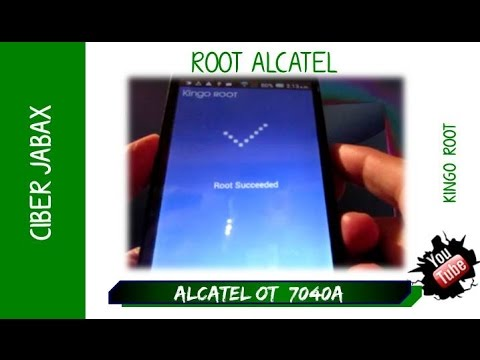 Tct alcatel u3 3g 4049g root - updated September 2019