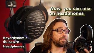 Wow best mixing headphone 2019 Beyerdynamic DT 1990 Pro Headphones Review