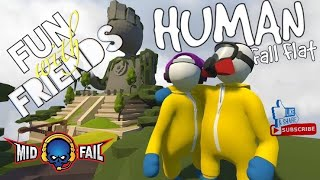 Human Fall Fat ~ Funny game play~Road to 110K Subs(18-08-2019)