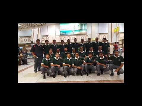 Pakistan Hockey Team March 2017: dinner at the High Commissioner's residence in New Zealand