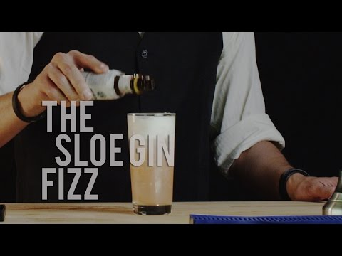 How to Make The Sloe Gin Fizz - Best Drink Recipes