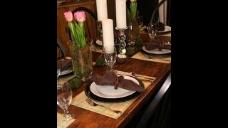Diy: Spring Table Setting | Decorating Ideas | Showmecute
