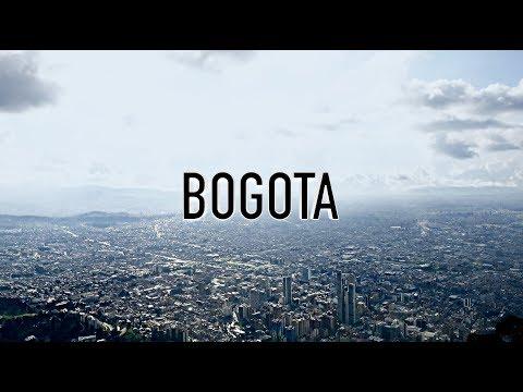 BOGOTA, COLOMBIA 4K travel vlog