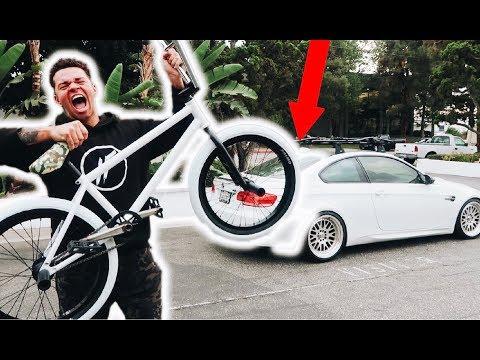 I GOT A NEW BIKE TO MATCH MY CAR!