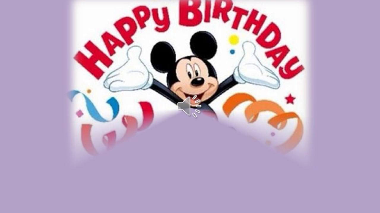 Feliz Cumpleaños Brujita Linda Youtube