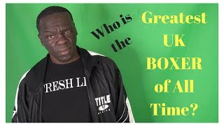 Greatest UK boxer of all time? Mayweather Boxing Club gives their picks