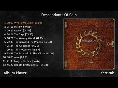 Descendants Of Cain - Yetzirah (Full Album Player) [ Rock Gothic ]