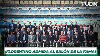 Admiración y respeto del Real Madrid por el Salón de la Fama | TUDN