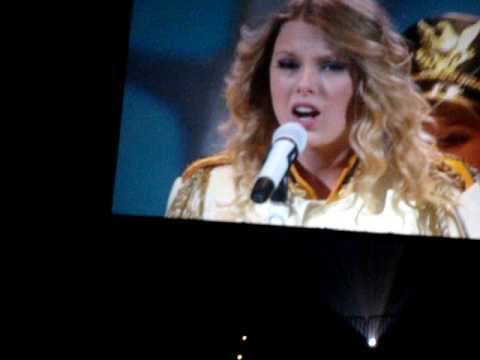 Taylor Swift Concert in Jacksonville, Florida-  You Belong To Me