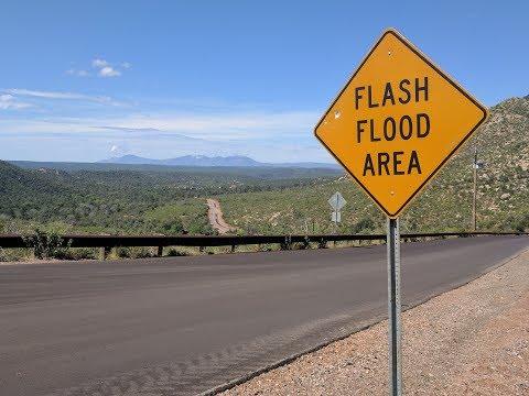 Cold Springs Flash Flooding Timeline - 360º Video