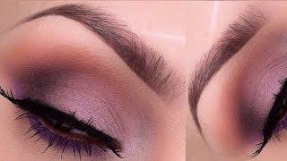 Soft purple smokey eye tutorial Thumbnail