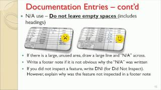 Good Documentation Practices (10/7/2014)