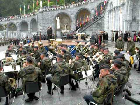 PMI 2009 Lourdes musique militaire