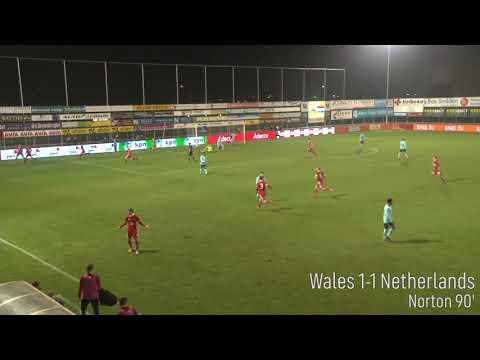 Wales 1-2 Netherlands Goals - #U19EURO 2019 Elite Round