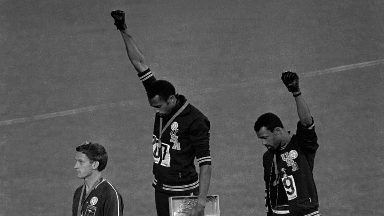 Image result for olympic protest 1968