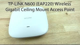 how to setup a tp link eap220 n600 wireless access point with the eap controller software