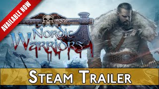 Nordic Warriors Steam Gameplay Trailer