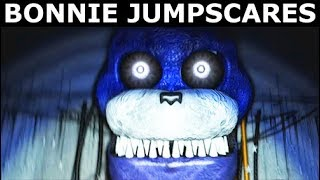 JOLLY 3: Chapter 2 - Rusty Bonnie Animatronic Jumpscares (FNAF Horror Game 2018)