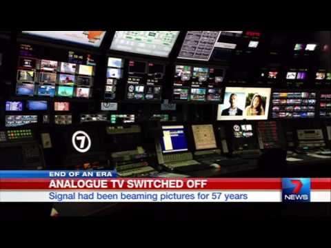 Seven News Melbourne - Analogue TV Switch Off [10.12.13]