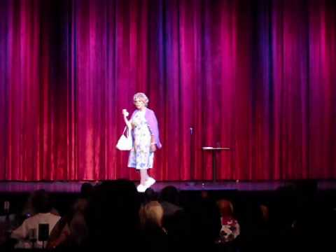 Vicki Lawrence as Mama. Live in Las Vegas.