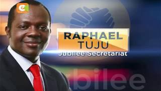 Former Cabinet Minister Raphael Tuju to head Jubilee secretariat