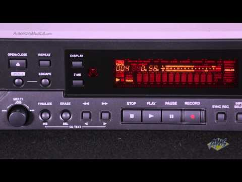 Tascam CD-RW900MKII CD Recorder/Player - Tascam CD-RW900MKII