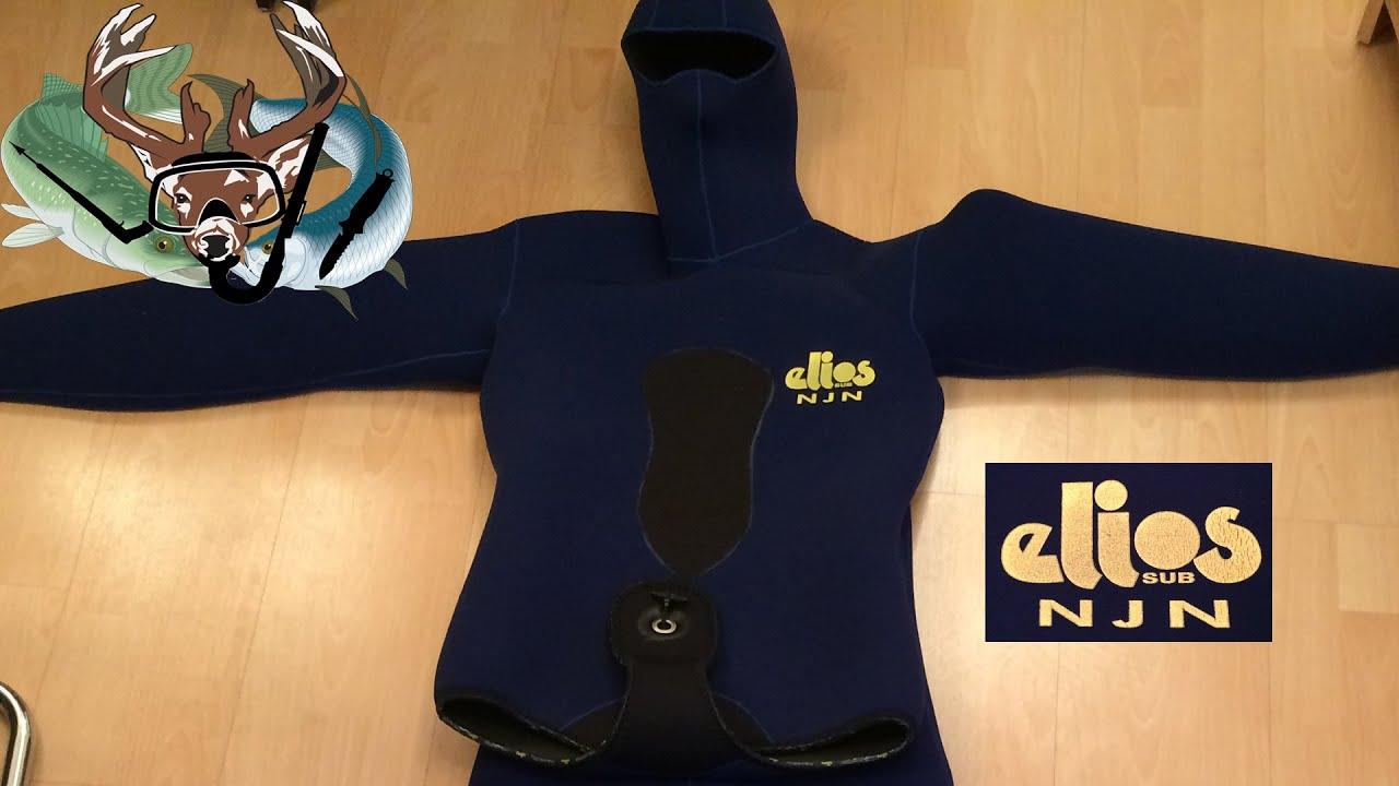 Подводная охота #18 новый костюм ELIOS, распаковка