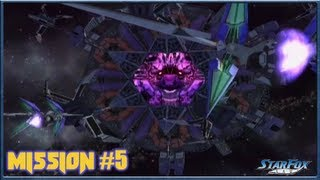 Starfox Assault - Asteroid Belt: The Aparoid Menace - Mission 5