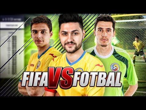 FIFA vs FOTBAL cu DORIN ROTARIU & SILVIU LUNG (ECHIPA NATIONALA a ROMANIEI) !!! HQ - 720P