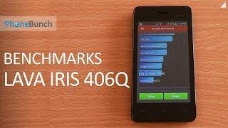 Lava Iris 406Q Benchmarks