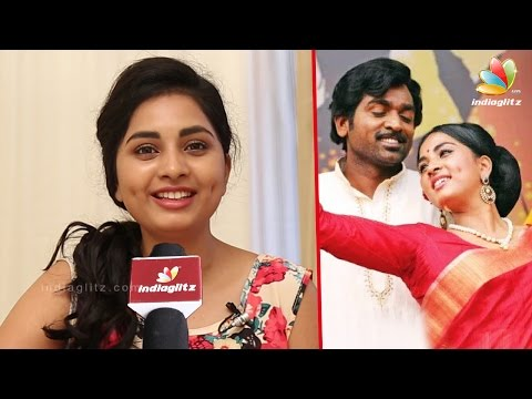 Srushti Dange Interview : I couldn't match up with Vijay Sethupathi speed | Dharma durai Making