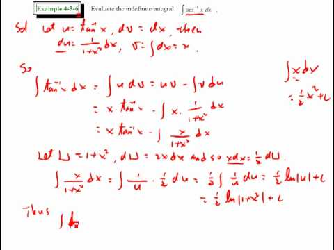 4-3 Integration by Parts 070