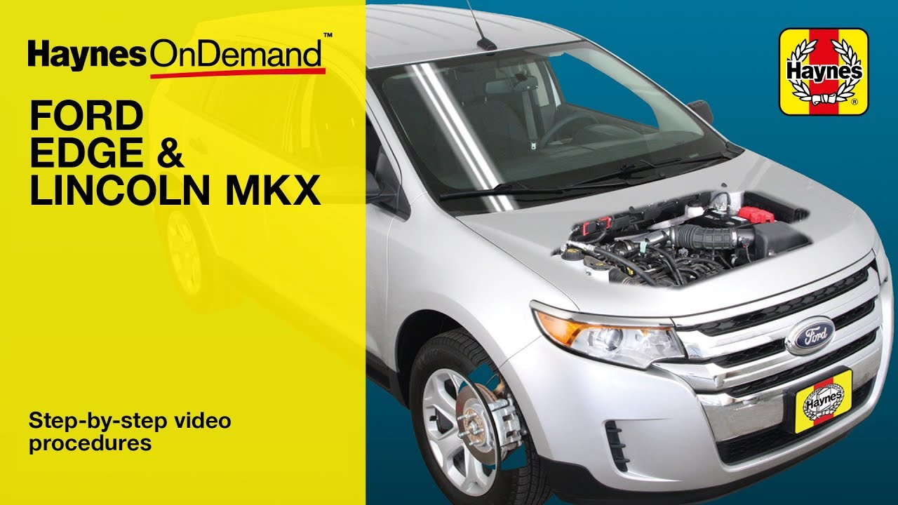 haynes manuals ford edge 07 13 ondemand preview youtube rh youtube com 07 ford edge repair manual 2007 Ford Edge Limited
