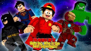 ROBLOX - HERO INC. WHO IS YOUR FAVORITE SUPER HERO?!!