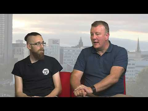 Sheffield Live TV Jamie Hoyland & Kieran Beech 15.6.17 Part 1