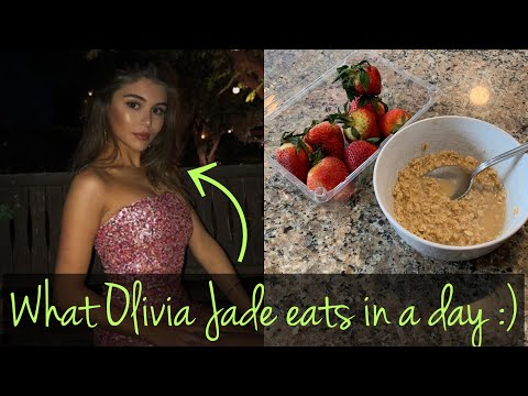 Following OLIVIA JADE What I Eat in a Day thumbnail